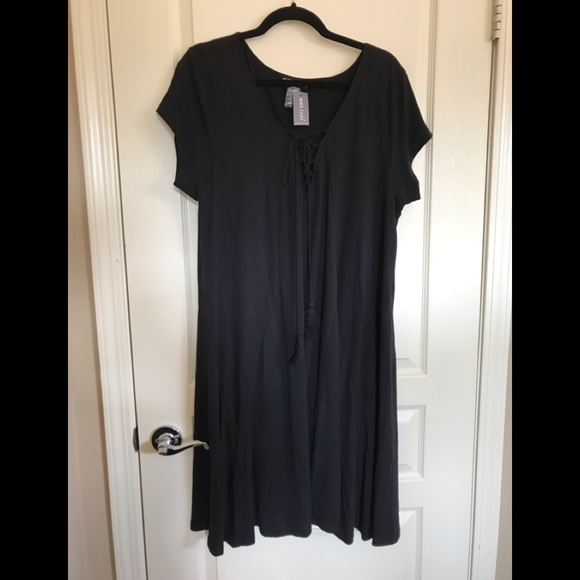Wet Seal Dresses | Black Plus Size Dress | Poshmark